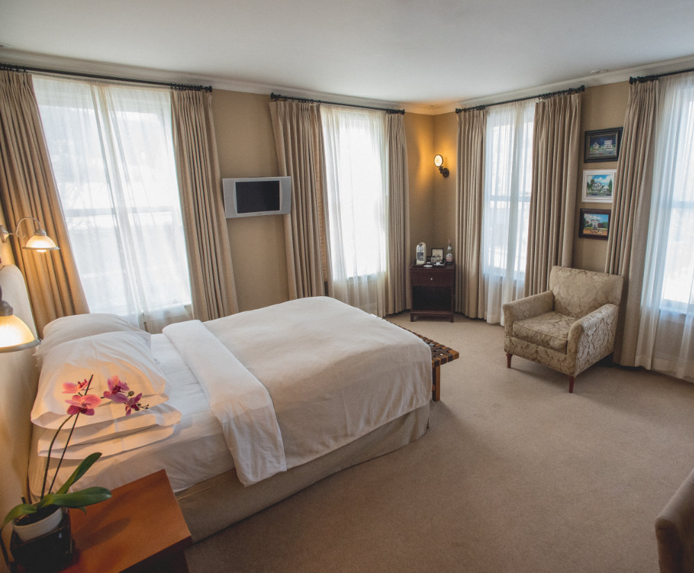 Hotel Fauchère Deluxe Room
