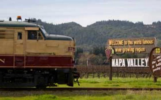 "Wine Train ""I left my Car in San Francisco"""