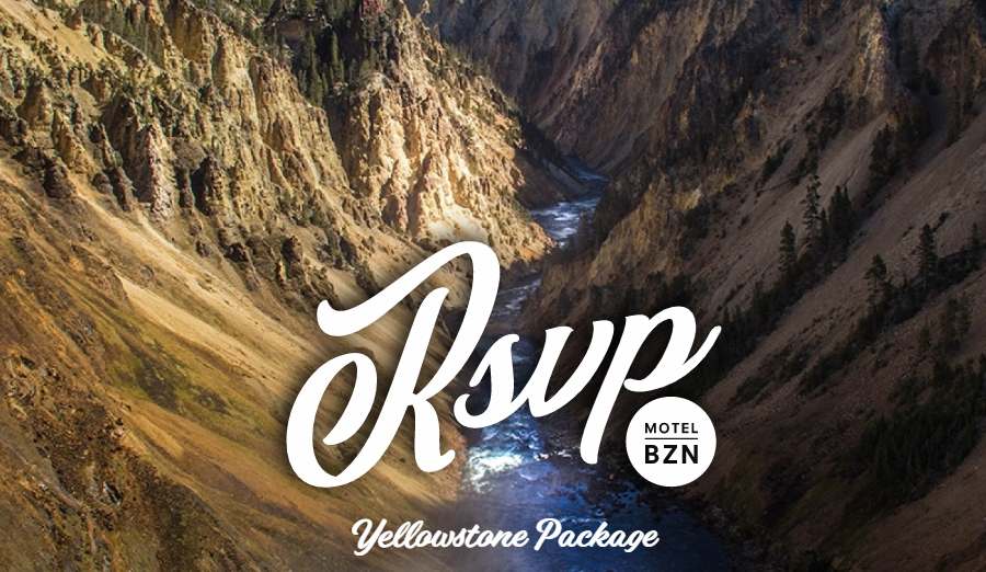 RSVP Yellowstone Tour Package