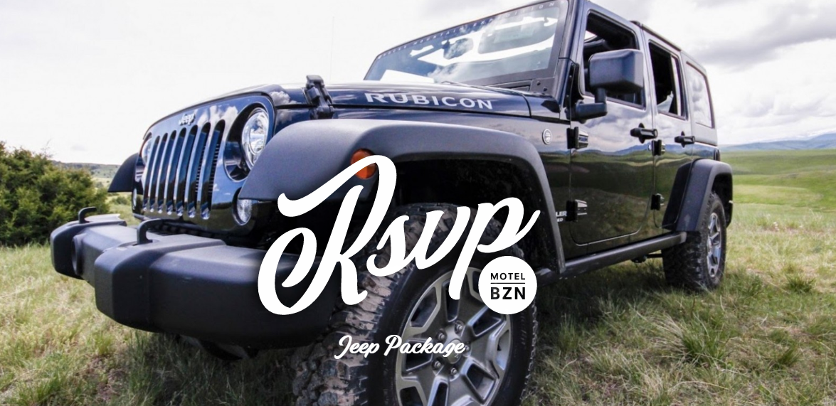 RSVP Jeep Package
