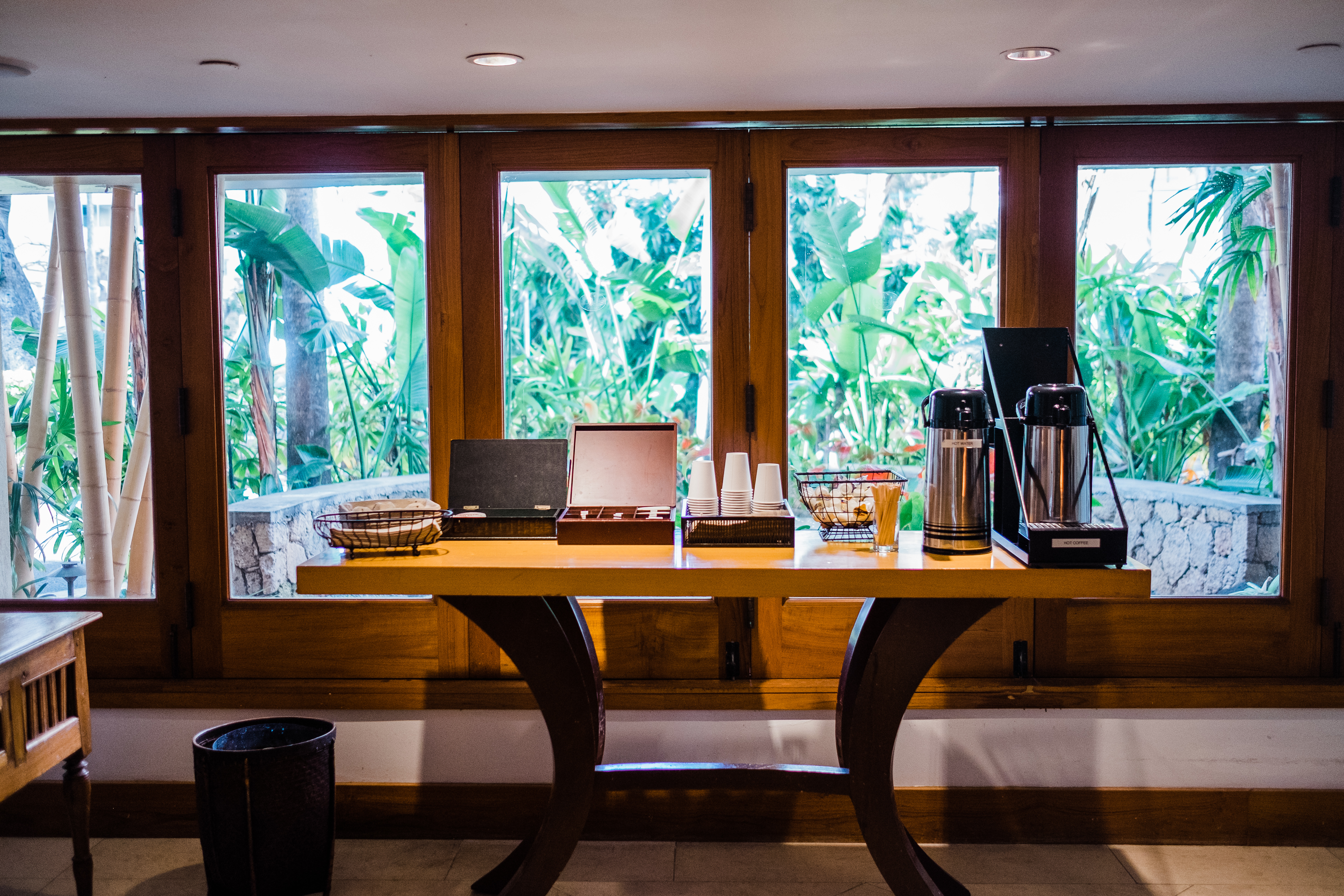Coffee and Pastries Served Daily in the Lobby