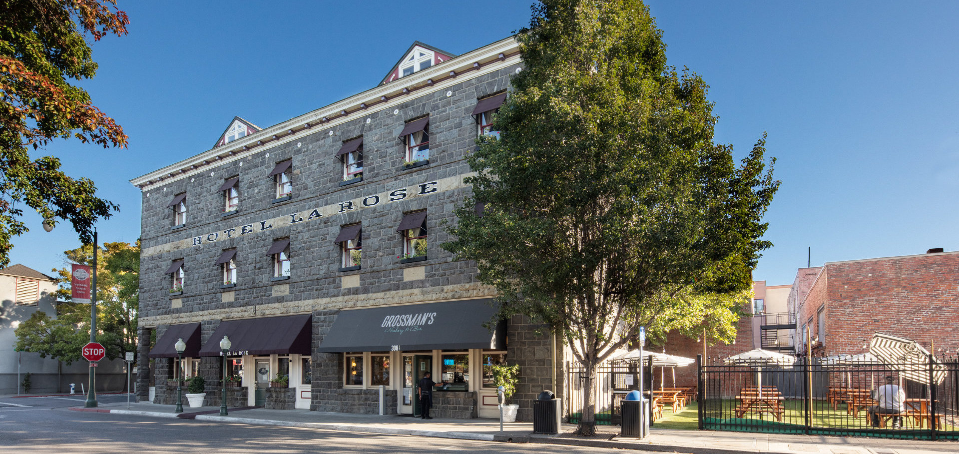 Welcome to the historic Hotel La Rose – A Santa Rosa Landmark